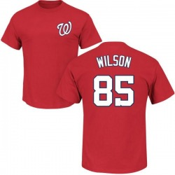 Men's Cody Wilson Washington Nationals Roster Name & Number T-Shirt - Red