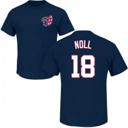 Youth Jake Noll Washington Nationals Roster Name & Number T-Shirt - Navy